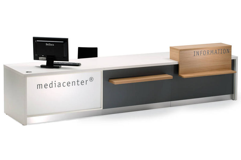 Information Desk Design modern information desks for college libraries archives - bci