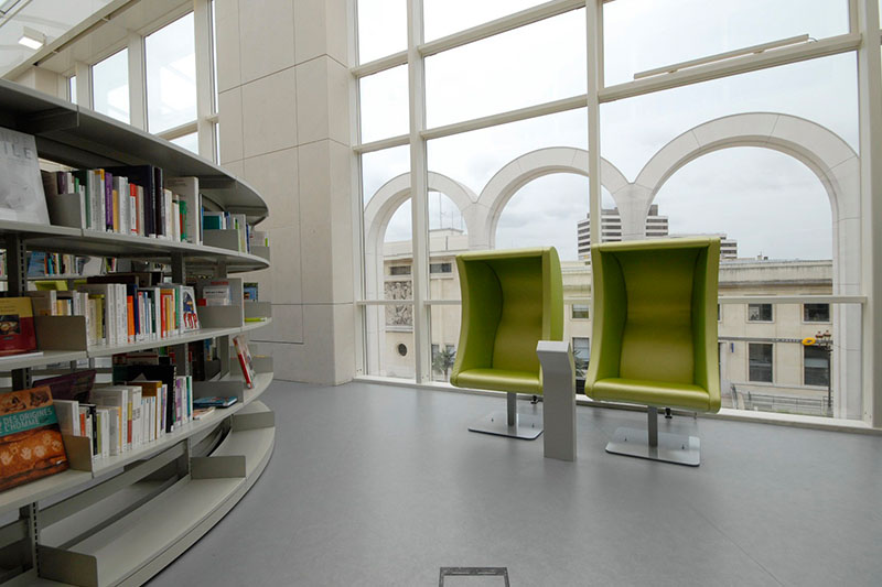 BCI - Luna Chairs for the Modern Library Teen Lounge