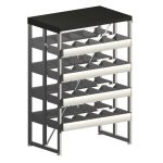 Opal Shelving with CD/DVD Storage