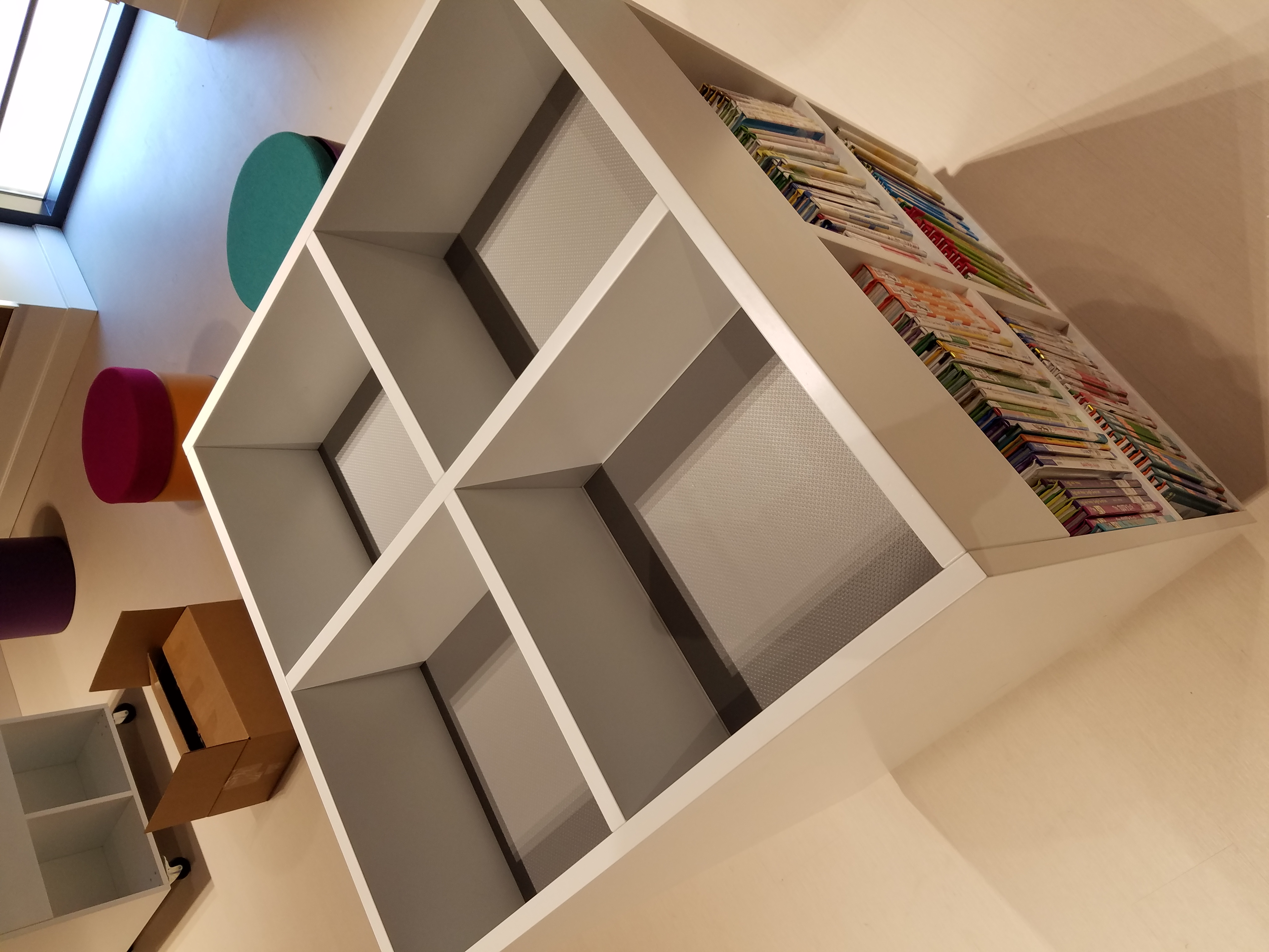 modern library furniture. another bci modern library furniture renovation project approaching completion