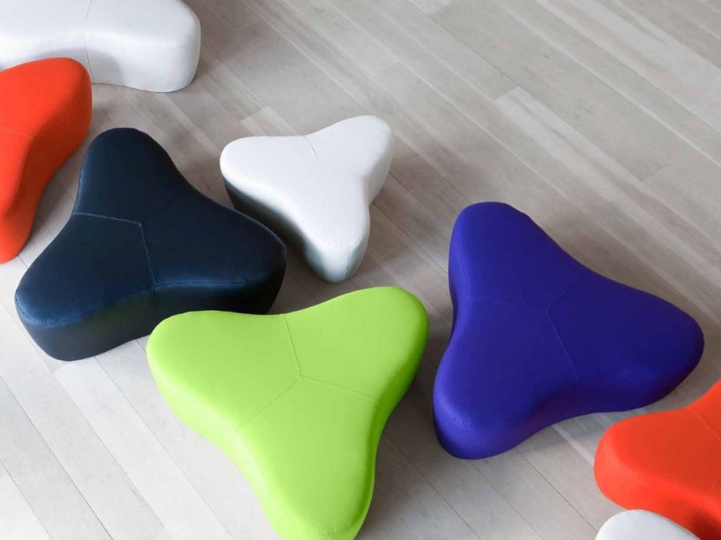 chat pouf bci modern library furniture