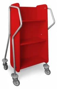 crossrunner book trolley bci modern library furniture