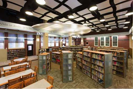 New Library From BCI For George Washington Middle School, Ridgewood, NJ