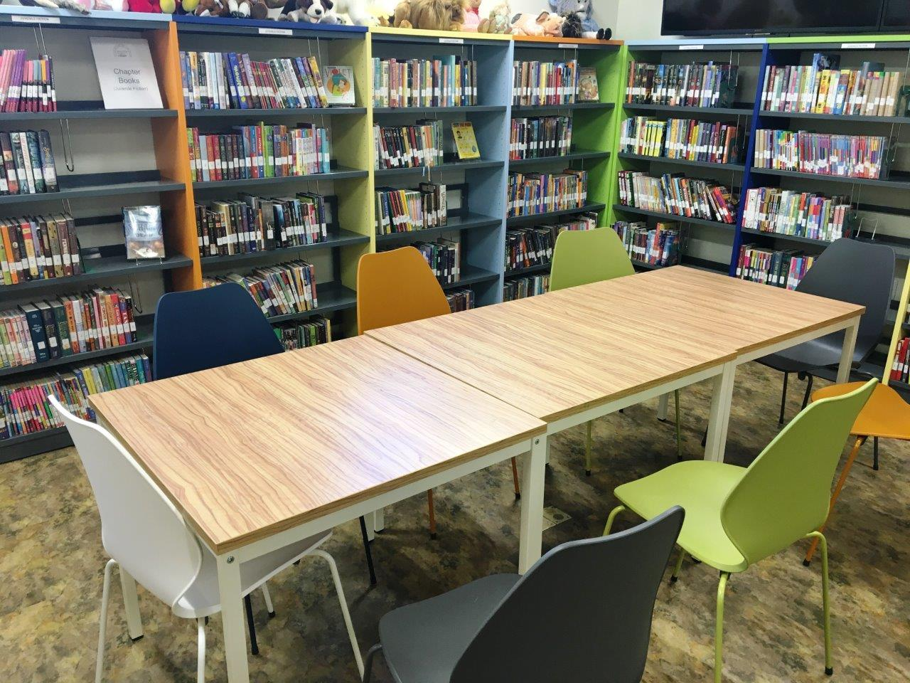 Modern Library Shelving Archives BCI