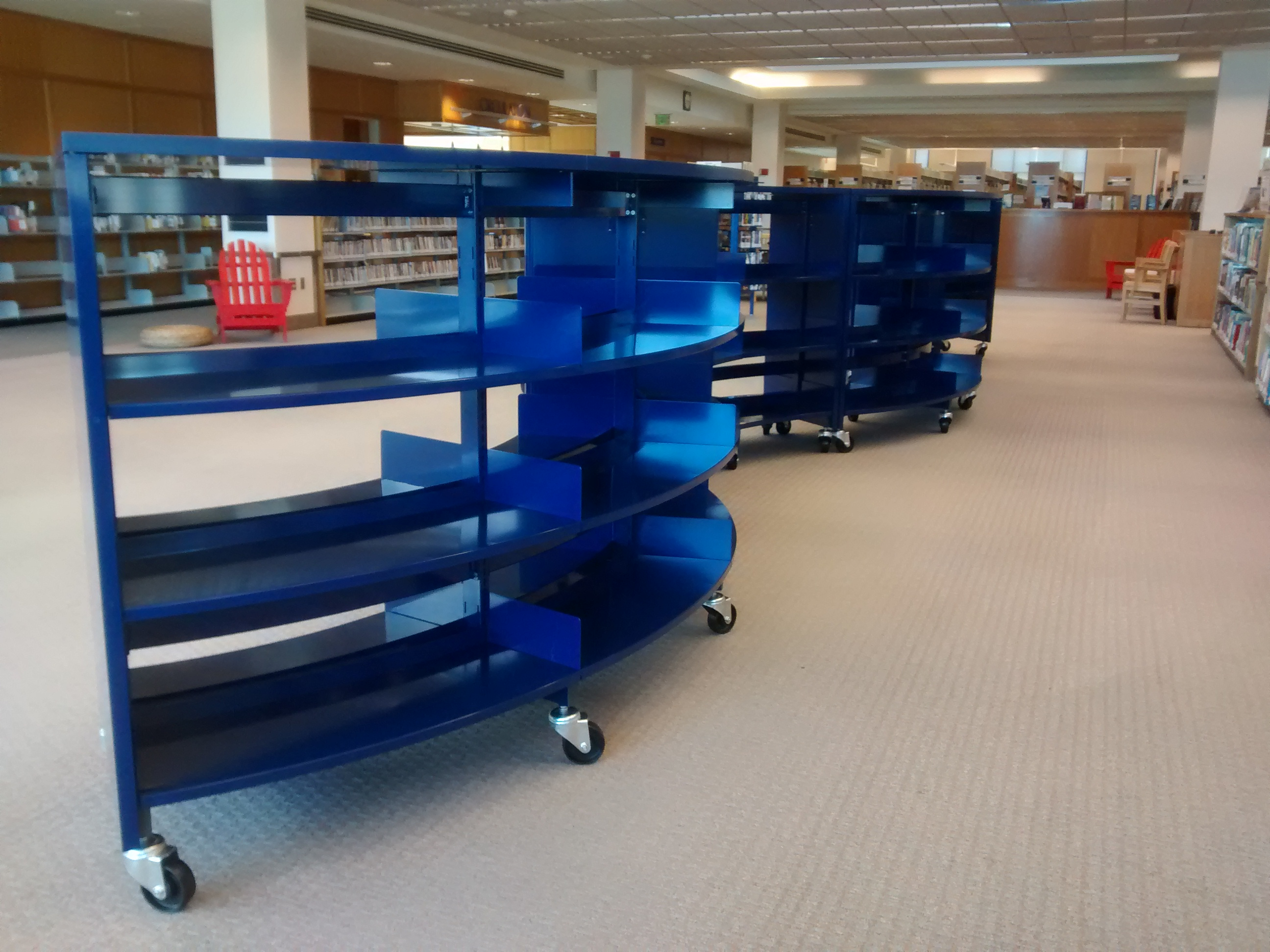 spokane public library gets some shelf help from bci modern library furniture bci modern library furniture