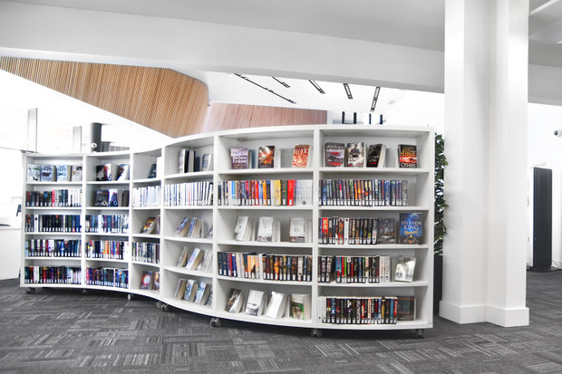 In A Previous Renovation At Bluebonnet Library, BCI Provided INFORM Desk  Systems For The Adult Section, And INFORM Desk Systems For Childrenu0027s Area.