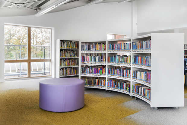 BCI Modern Library Furniture Chosen For $5.6M Library Renovation In Nebraska