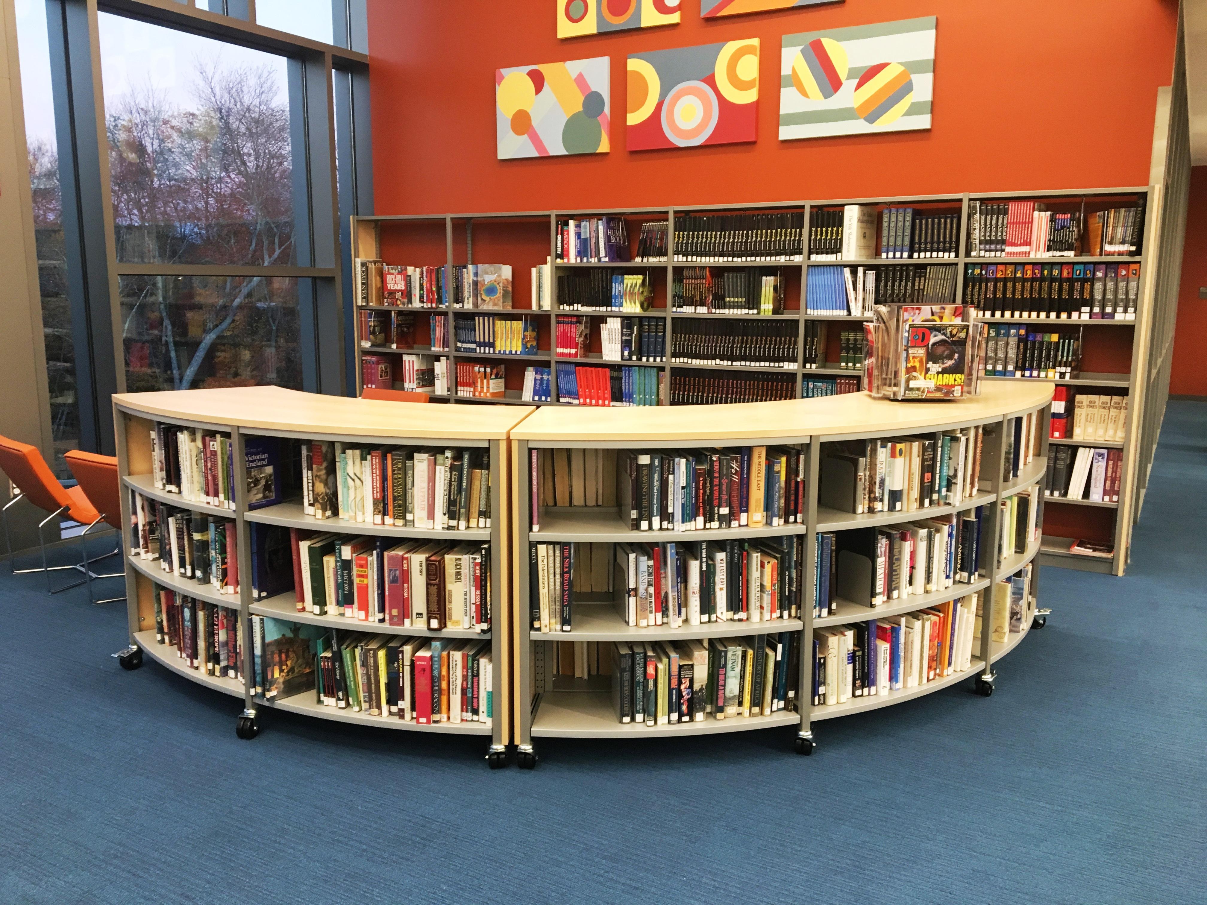 Morgan School Library CT