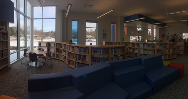Red Creek Elementary School Library. Modern School Library Furniture Archives   BCI