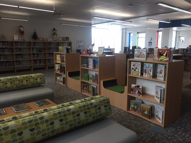 Red Creek Elementary School Library