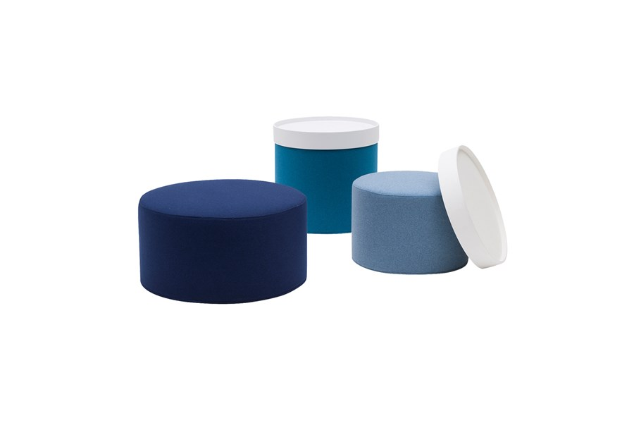 Pouf with Storage