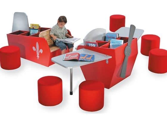 Reading Plane Children's Furniture