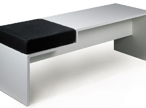 Reading Bench with Tray
