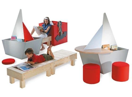 Reading Ship Children's Furniture