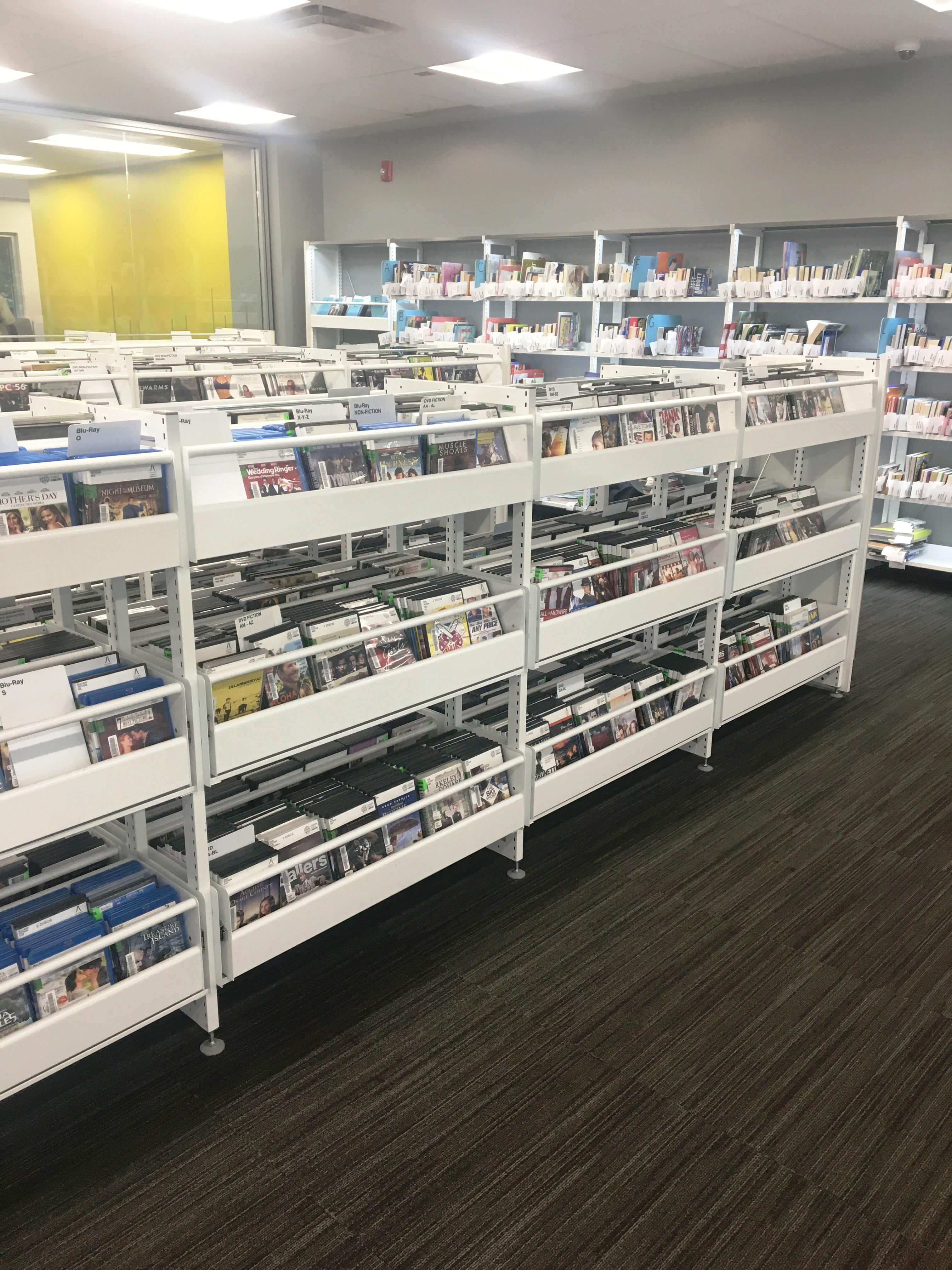 CD DVD Library Storage Shelving