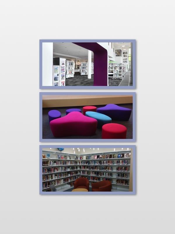 BCI Modern Library Furniture