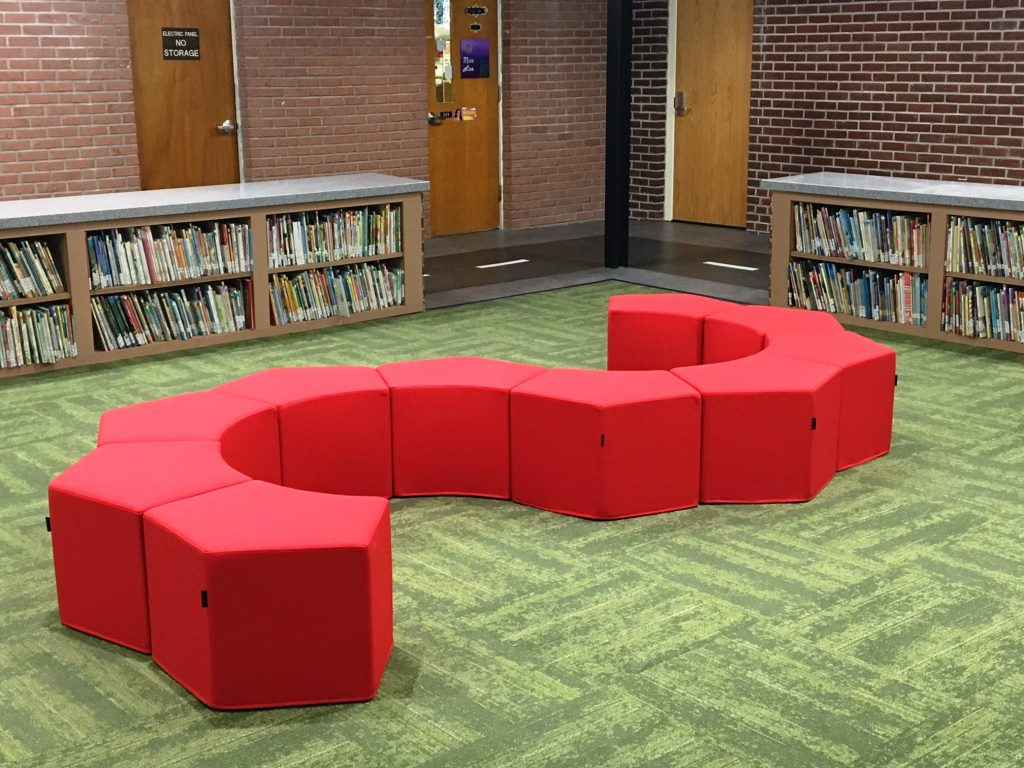 Pause Pouf Library Seating