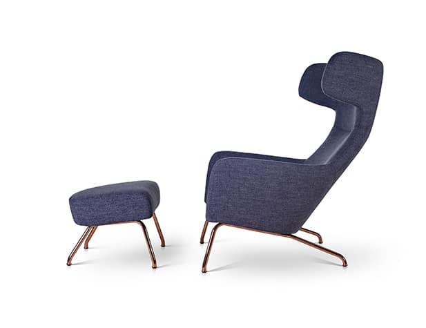 Softline Havana Chair and Footstool