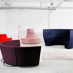 Area Radius Modular Seating