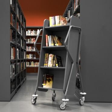 Book Trolleys + Returns