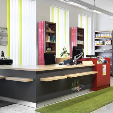 Information Desks + Systems