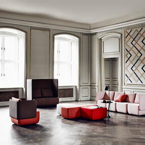 Opera Couch + Chair System